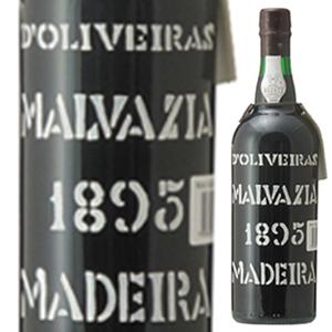 【送料無料】マデイラ マルヴァジア 1895 ペレイラ ドリヴェイラ 750ml [甘口マデイラ]Madeira Malvasia Pereira D'oliveira [マルヴァジーア]