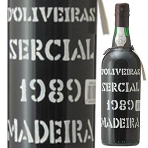 【6本~送料無料】マデイラ セルシアル 1989 ペレイラ ドリヴェイラ 750ml [マデイラ]Madeira Sercial Pereira D'Oliveira