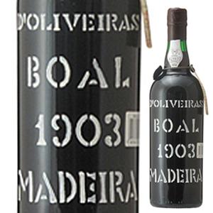 【送料無料】マデイラ ブアル 1903 ペレイラ ドリヴェイラ 750ml [マデイラ]Madeira Boal Pereira D'oliveira