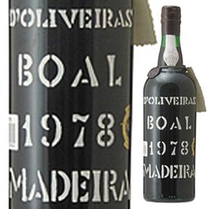 【送料無料】マデイラ ブアル 1978 ペレイラ ドリヴェイラ 750ml [マデイラ]Madeira Boal Pereira D'oliveira