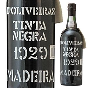 【送料無料】[7月31日(金)以降発送予定]マデイラ ティンタ ネグラ 1929 ペレイラ ドリヴェイラ 750ml [マデイラ]Madeira Tinta Negra Pereira D'oliveira