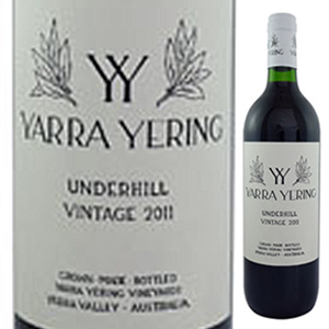 【6本~送料無料】アンダーヒル シラーズ 2015 ヤラ イエリング 750ml [赤]Underhill Shiraz Yarra Yering
