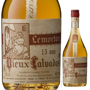 【6本~送料無料】カルヴァドス オルダージュ 15年 NV ルモルトン 700ml [カルヴァドス]Calvados Hors D'age 15 Ans Lemorton