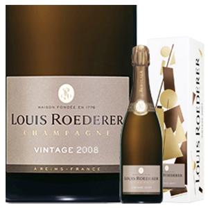 【6本~送料無料】[ギフトボックス入り]ブリュット ヴィンテージ ボックス 2012 ルイ ロデレール 750ml [発泡白]Brut Vintage Box Louis Roederer