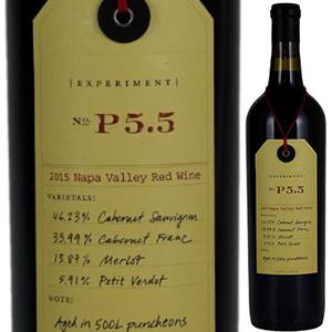 【送料無料】エクスペリメント P5.5 2015 オーヴィッド 750ml [赤]Experiment P5.5 Ovid.