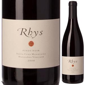 【送料無料】ピノ ノワール ホースシュー ヴインヤード サンタ クルーズ マウンテン 2017 リース ヴィンヤーズ 750ml [赤]Pinot Noir Horseshoe Vineyard Santa Cruz Mountains Rhys Vineyards