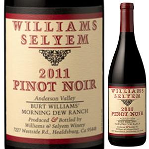 【送料無料】モーニング デュー ランチ ピノ ノワール 2012 ウィリアムズ セリエム 750ml [赤]Morning Dew Ranch Pinot Noir Williams Selyem