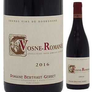 【6本~送料無料】ヴォーヌ ロマネ 2017 ドメーヌ ベルトー ジェルベ 750ml [赤]Vosne-Romanee Domaine Berthaut-Gerbet