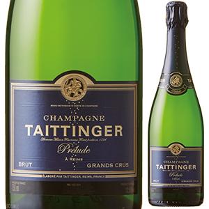 【6本~送料無料】プレリュード グラン クリュ NV テタンジェ 750ml [発泡白]Pr lude Grands Crus Champagne Taittinger