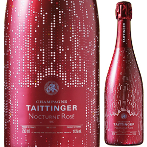 【6本~送料無料】ノクターン スリーヴァー ロゼ NV テタンジェ 750ml [発泡ロゼ]Nocturne Sleever Ros Champagne Taittinger