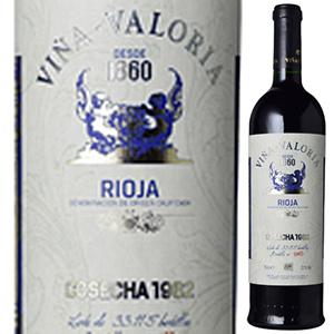 【6本~送料無料】ビーニャ バロリア コセチャ 1982 ボデガス バロリア 750ml [赤]Vina Valoria Cosecha Bodegas Valoria