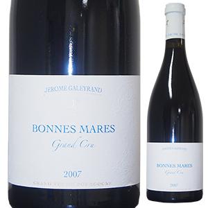 【送料無料】ボンヌ マール 2007 ドメーヌ ジェローム ガレイラン 750ml [赤]Bonnes Mares Grand Cru Domaine J r me Galeyrand