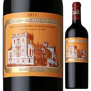 【6本~送料無料】シャトー デュクリュ ボーカイユ 2013 750ml [赤]Chateau Ducru-Beaucaillou