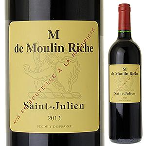 【6本~送料無料】M ド ムーラン リッシュ 2013 (シャトー ムーラン リッシュセカンドワイン) 750ml [赤]M De Chateau Moulin Riche
