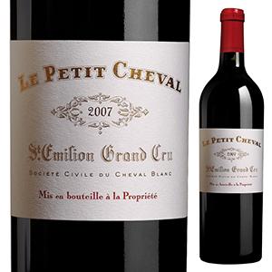 【送料無料】ル プティ シュヴァル 2007 (シャトー シュヴァル ブランセカンドワイン) 750ml [赤]Le Petit Cheval