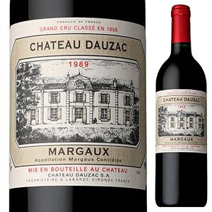 【6本~送料無料】シャトードザック 1989 (シャトー ドーザック) 750ml [赤]Chateau Dauzac Chateau Dauzac
