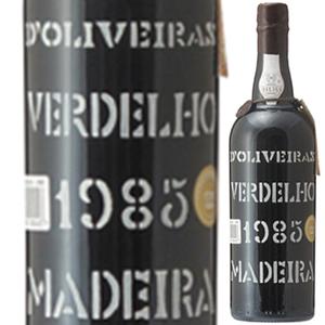 【送料無料】マデイラ ヴェルデーリョ 1985 ペレイラ ドリヴェイラ 750ml [マデイラ]Madeira Verdelho Pereira D'oliveira