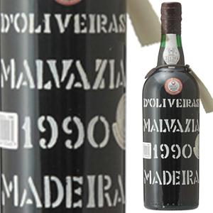 【6本~送料無料】マデイラ マルヴァジア 1990 ペレイラ ドリヴェイラ 750ml [甘口マデイラ]Madeira Malvasia Pereira D'oliveira [マルヴァジーア]