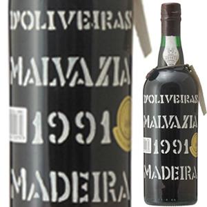 【送料無料】[8月21日(金)以降発送予定]マデイラ マルヴァジア 1991 ペレイラ ドリヴェイラ 750ml [甘口マデイラ]Madeira Malvasia Pereira D'oliveira [マルヴァジーア]