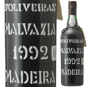 【送料無料】[1月17日(金)以降発送予定]マデイラ マルヴァジア 1992 ペレイラ ドリヴェイラ 750ml [甘口マデイラ]Madeira Malvasia Pereira D'oliveira [マルヴァジーア]