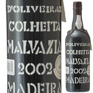 【6本~送料無料】[8月21日(金)以降発送予定]マデイラ マルヴァジア 2002 ペレイラ ドリヴェイラ 750ml [甘口マデイラ]Madeira Malvasia Pereira D'oliveira [マルヴァジーア]