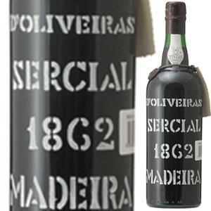 【送料無料】[8月21日(金)以降発送予定]マデイラ セルシアル 1862 ペレイラ ドリヴェイラ 750ml [マデイラ]Madeira Sercial Pereira D'oliveira