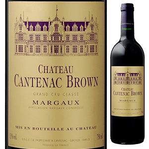 【6本~送料無料】シャトー カントナック ブラウン 2015 750ml [赤]Chateau Cantenac Brown