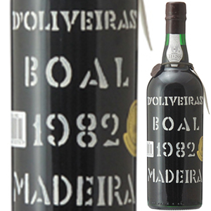 【送料無料】[1月17日(金)以降発送予定]マデイラ ブアル 1982 ペレイラ ドリヴェイラ 750ml [マデイラ]Madeira Boal Pereira D'oliveira