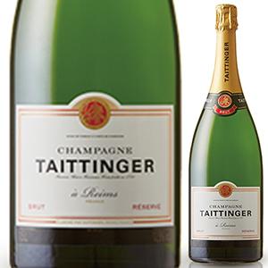 送料無料 3月5日 金 以降発送予定 スーパーセール ブリュット レゼルヴ NV 9000ml Reserve テタンジェ Brut Taittinger Champagne 発泡白 特価品コーナー☆