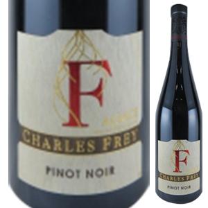 【6本~送料無料】ピノノワール エフ 2015 シャルル フレイ 750ml [赤]Pinot Noir F Charles Frey