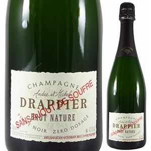【6本~送料無料】シャンパーニュ ブリュット ナチュール サン スフル NV ドラピエ 750ml [発泡白]Champagne Brut Nature Sans Soufre Drappier [自然派]