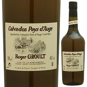 【6本~送料無料】カルヴァドス ペイ ドージュ ロジェ グルー 3年 NV 700ml [カルヴァドス]Calvados Pays D'auge Roger Groult 3 Ans D'age