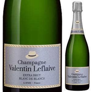 【6本~送料無料】エクストラ ブリュット ブラン ド ブラン NV ヴァランタン ルフレーヴ 750ml [発泡白]Extra Brut Blanc De Blancs Valentin Leflaive