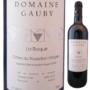 【6本~送料無料】コート デュ ルーション ヴィラージュ ラ ロック ルージュ 2012 ドメーヌ ゴビー 750ml [赤]Cotes Du Roussillon Villages La Roque Rouge Domaine Gauby [自然派]