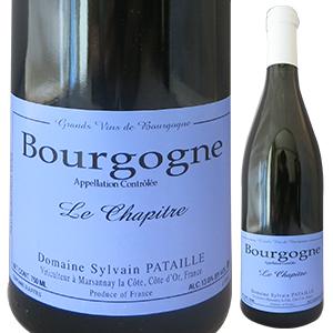 【6本~送料無料】ブルゴーニュ ルージュ ル シャピートル 2015 ドメーヌ シルヴァン パタイユ 750ml [赤]Bourgogne Rouge Le Chapitre Domaine Sylvain Pataille