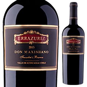 【6本~送料無料】ドン マキシミアーノ 2007 エラスリス 750ml [赤]Don Maximiano Errazuriz