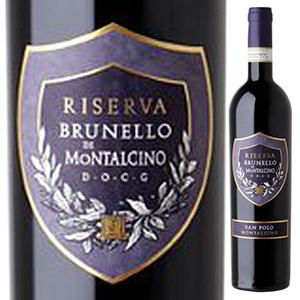 【6本~送料無料】ブルネッロ ディ モンタルチーノ リゼルヴァ 2012 サンポーロ (アレグリーニ) 750ml [赤]Brunello Di Montalcino Riserva San Polo (Allegrini) [ブルネロ]