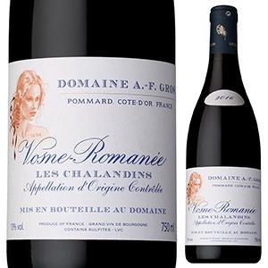 【6本~送料無料】ヴォーヌ ロマネ レ シャランダン 2017 ドメーヌ アンヌ フランソワーズ グロ 750ml [赤]Vosne-Romanee Les Chalandins Domaine Anne Francoise Gros