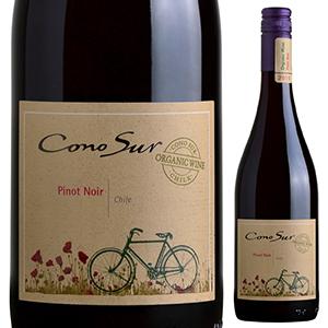 【6本~送料無料】オーガニック ピノ ノワール 2019 コノスル 750ml [赤]Organic Pinot Noir Cono Sur [スクリューキャップ]