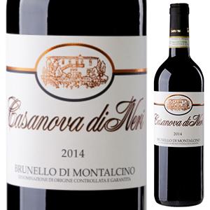 【6本~送料無料】ブルネッロ ディ モンタルチーノ 2014 カサノヴァ ディ ネリ 750ml [赤]Brunello Di Montalcino Casanova Di Neri [ブルネロ]