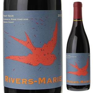 【6本~送料無料】ピノ ノワール オキシデンタル リッジ ヴィンヤード 2013 リヴァース マリー 750ml [赤]Pinot Noir Occidental Ridge Vineyard Rivers Marie