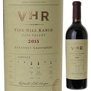 【送料無料】カベルネ ソーヴィニヨン 2015 ヴァイン ヒル ランチ 750ml [赤]Cabernet Sauvignon Vine Hill Ranch