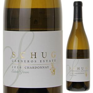 【6本~送料無料】シャルドネ カーネロス エステート グロウン 2016 シュグ 750ml [白]Chardonnay Carneros Estate Grown Schug