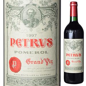 【送料無料】シャトー ペトリュス 1997 750ml [赤]Chateau Petrus