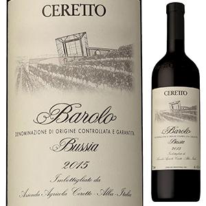 【送料無料】バローロ ブッシア 2015 チェレット 750ml [赤]Barolo Bussia Ceretto