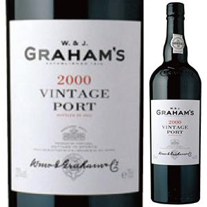 【送料無料】グラハム ヴィンテージ ポート 2000 750ml [赤]Graham's Vintage Port