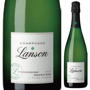 【6本~送料無料】ランソン グリーンラベル ブリュット オーガニック 9999 750ml [発泡白]Lanson Green Label Brut Organic