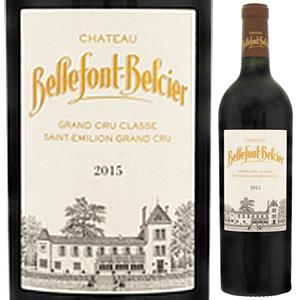 6本~送料無料 シャトー ベルフォン 人気商品 ベルシエ 2015 Belcier 赤 メーカー公式ショップ Bellefont 750ml Chateau