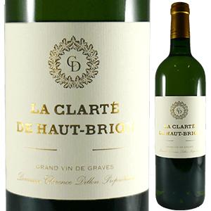【6本~送料無料】ラ クラルテ ド オー ブリオン ブラン 2012 (シャトー オー ブリオン) 750ml [白]La Clarte De Haut Brion Blanc Chateau Haut-Brion