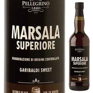6本~送料無料 マルサラ スーペリオーレ ガリバルディ ドルチェ 日時指定 NV ペッレグリーノ 開店祝い Dolce 750ml Garibaldi Marsala Superiore 甘口マルサラ Pellegrino
